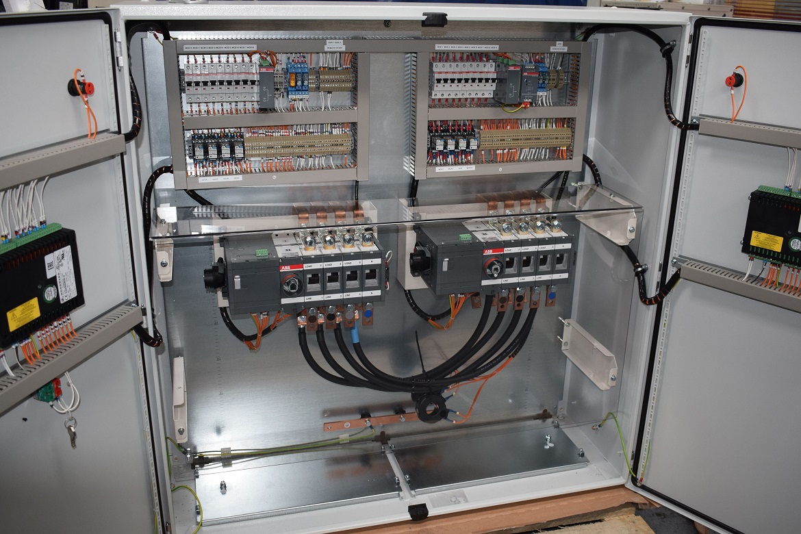 Electrical Control Panel Motor Centre Plc Panels Wiring Ats Amf Palel Auto Transformer Starter
